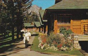 Canada Alberta Room Service Via Bicycle Jasper Park Lodge