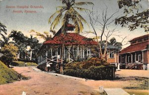 Ancon Hospital Grounds Ancon Panama Postal Used Unknown