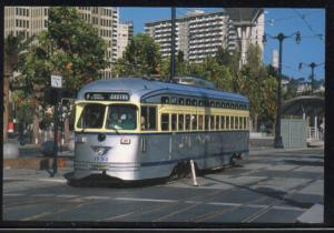 San Francisco CA SEPTA PCC car  on Embarcadero PC unused