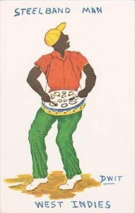 West Indies Steelband Man Dwit