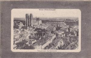 Vue generale La Cathedrale, Toul Pittoresque, Meurthe et Moselle, France, 10-20s