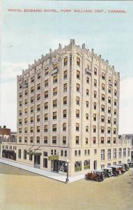Royal Edward Hotel, Fort William, Ontario, Canada, 1900-1910s