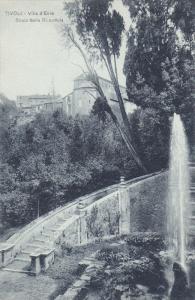 Villa D'Este, Scala Della Gliandola, TIVOLI (Lazio), Italy, 1900-1910s