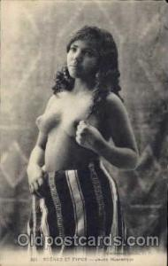 Arab Nude Nudes Postcard Post Card