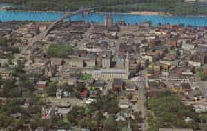 Wisconsin La Crosse Aerial View