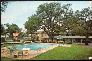 Georgia BRUNSWICK Quality Motel - Oak Park on U.S. 17 - pm1970 - Chrome