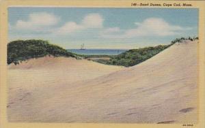 Massachusetts Cape Cod Sand Dunes 1957 Curteich