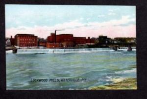 ME Lockwood Cotton Mills WATERVILLE MAINE Postcard