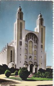RP: CASABLANCA , Morocco , 30-40s : Eglise du Sacre-Coeur