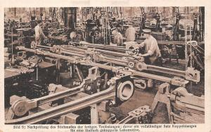 Hanomag Factory, industry building locomotives bild 9: Nachpruefung Stichmasses