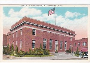 North Carolina Waynesville Post Office