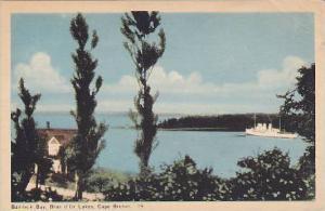 Baddeck Bay Bras d'Or Lakes, Cape Breton, Nova Scotia, Canada,  PU-00-10s