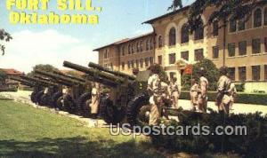 Fort Sill, OK Postcard      ;      Fort Sill, Oklahoma Post Card Fort Sill OK...