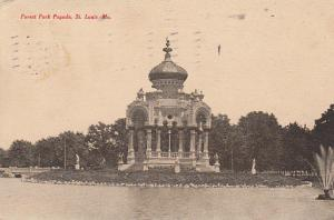 Forest Park Pagoda, St. Louis 1908