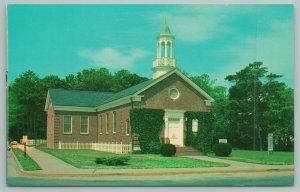 Rehoboth Beach Delaware~Westminster Presbyterian Church~Standard Chrome Postcard