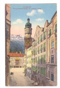 Herzog-Friedrichstrasse Mit Goldnem Dachl, Innsbruck, Tyrol, Austria, 1900-1910s