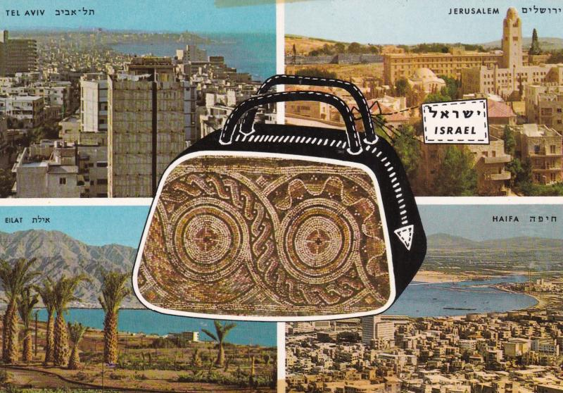 Israel , 50-70s ; 4 cities & Handbag