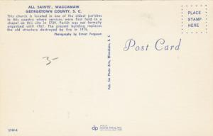 GEORGETOWN COUNTY, South Carolina, 50-60s; All Saints', WACCAMAW