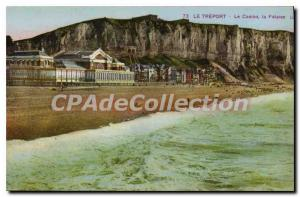Old Postcard Le Treport The Casino Cliff