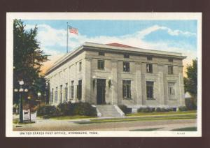 DYERSBURG TENNESSEE UNITED STATES POST OFFICE VINTAGE POSTCARD