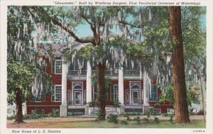 Mississippi Natchez Gloucester Built By Winthrop Sargent 1st Territorial Gove...