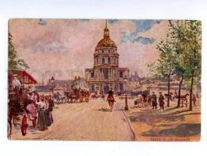 138547 France PARIS Les Invalides by Georges STEIN Vintage PC