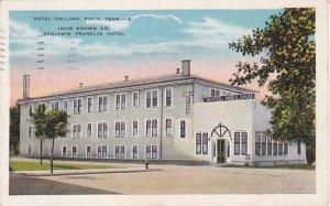 Tennessee Paris Hotel Holland 1952