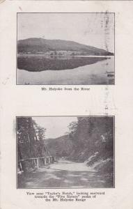 MT. HOLYOKE , Massachusetts ,1911 ; Split views