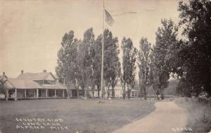 Alpena Michigan Country Club Real Photo Antique Postcard K43121