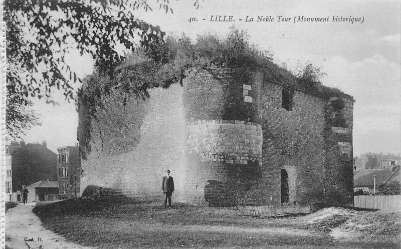 France Lille La Noble Tour Monument historique