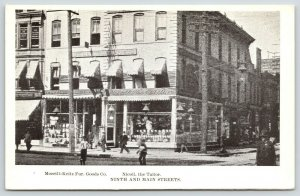 Kansas City MO~Main Street~Nicoll the Tailor~Morrill-Keitz Furnishing Store~1905