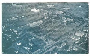 Aerior View of Oklahoma Baptist University, Shawnee, Oklahoma, 40-60s