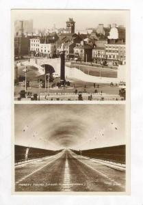 RP  Mersey Tunnel, Liverpool, 1930s 2-views