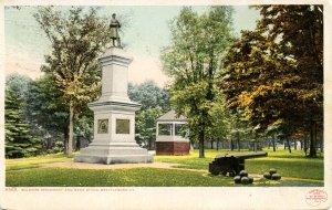 VT - Brattleboro. Soldiers' Monument & Common