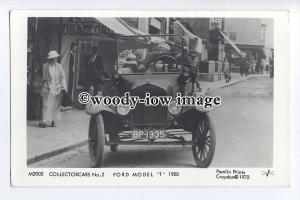 pp2255 - Collector-Cars No.2, Ford Model 'T' in 1920 - Pamlin postcard