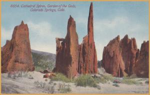 Colorado Springs, CO., Cathedral Spires, Garden of the Gods