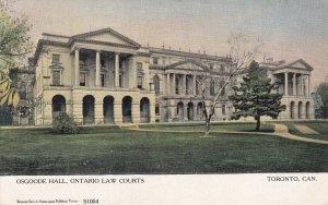 TORONTO, Ontario, Canada, 1900-1910's; Osgoode Hall, Ontario Law Courts