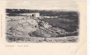 Teatro Greco, Siracusa (Sicily), Italy, 1900-1910s
