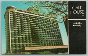 Louisville Kentucky~Galt House Luxurious Riverfront Hotel~Vintage Postcard