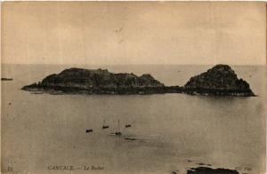 CPA  Cancale - Le Rocher (584585)