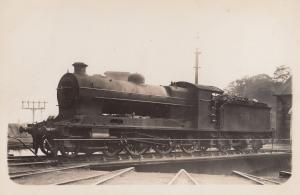 LMS 17950 4F Class 4-6-0 Cummings WW1 1918 Train Real Photo Postcard