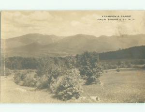 Pre-1930 rppc NICE VIEW Franconia New Hampshire NH i9524