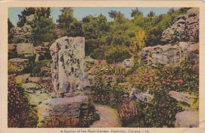 A Section Of The Rock Garden, Hamilton, Ontario, Canada, PU-1939