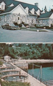 TADOUSSAC, Quebec , Canada , 1950-60s ; La Station de Pisciculture