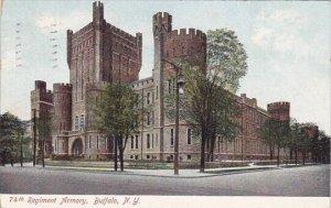New York Buffalo 74th Regoment Armory 1907