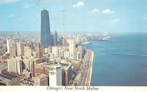 Illinois, Chicago's near North Skyline, Outer Drive, Coast, auto, cars Panorama