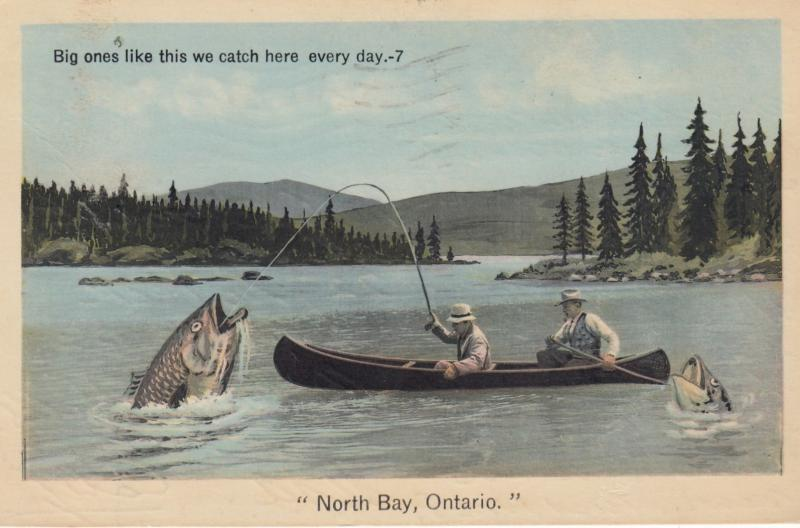 NORTH BAY , Ontario , Canada , 1939 ; The Type of Fish we catch here everyday