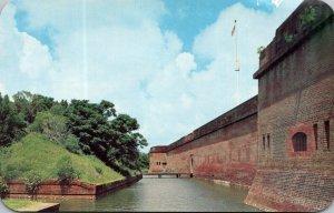 Georgia Fort Pulaski National Monument The Moat