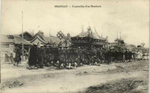 china, SHANGHAI, Funeral Procession of Chinese Mandarin (1910s)
