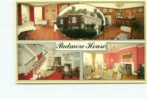 Postcard Canada I W Isle of Wight Hotel Padmore House  Free Shipping # 2666A